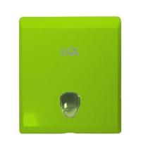 фото: Диспенсер для полотенец листовых Lime зеленый, maxi, Z укладка, 927004