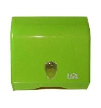 Диспенсер для полотенец листовых Lime зеленый, mini, V укладка, 926004