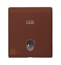 фото: Диспенсер для полотенец листовых Lime коричневый, maxi, Z укладка, 927005