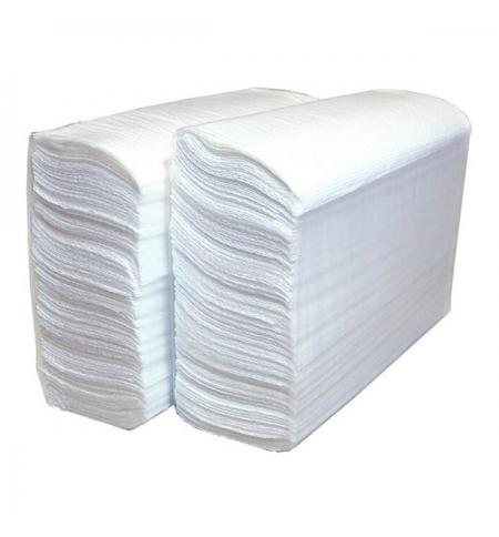 фото: Бумажные полотенца Lime листовые, светло-серые, Z укладка, 200шт, 1 слой, 215200