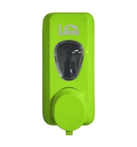 Диспенсер для мыла в картриджах Lime Prestige зеленый, 600мл, 972004