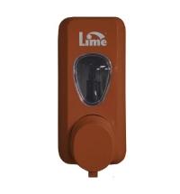 фото: Диспенсер для мыла в картриджах Lime Prestige коричневый, 600мл, 972005
