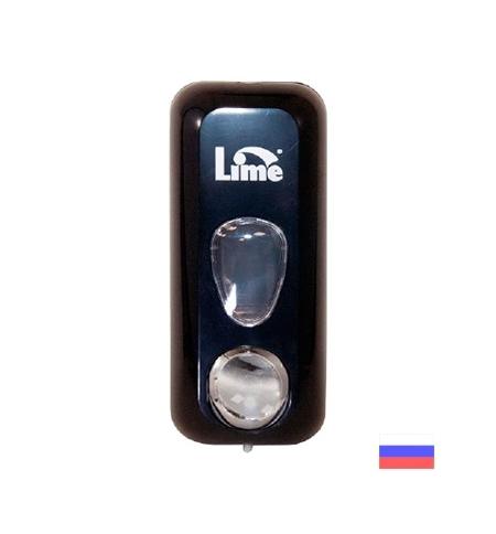 фото: Диспенсер для мыла в картриджах Lime Prestige черный, 600мл, 971102