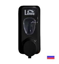 Диспенсер для мыла в картриджах Lime Prestige черный, 600мл, 972002