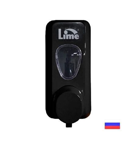 фото: Диспенсер для мыла в картриджах Lime Prestige черный, 600мл, 972002