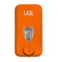 фото: Диспенсер для мыла наливной Lime оранжевый, 1л, 973003