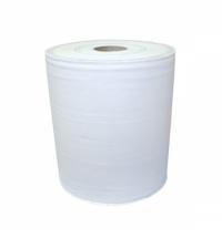 Протирочная бумага Lime 20.150, в рулоне, 150м, 1 слой, белая