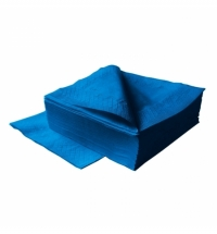 фото: Салфетки сервировочные Lime темно-синие, 33х33см, 2 слоя, 125шт, 740500