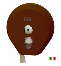 Диспенсер для туалетной бумаги в рулонах Lime коричневый, mini, A75610MAS