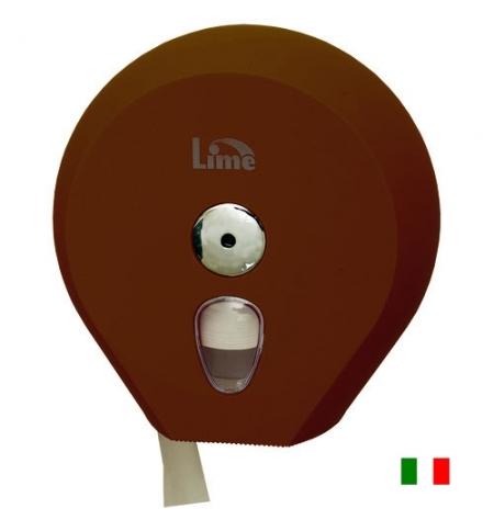 фото: Диспенсер для туалетной бумаги в рулонах Lime коричневый, mini, A75610MAS