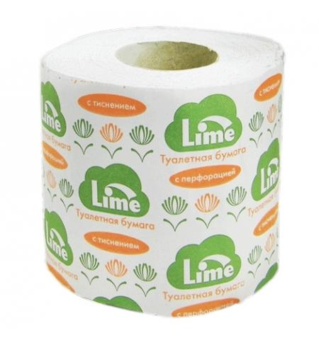 фото: Туалетная бумага Lime в рулоне, светло-серая, 29м, 1 слой, 102924