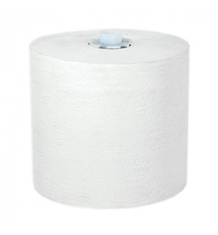 фото: Бумажные полотенца Lime Matic Maxi в рулоне, светло-серые, 150м, 2 слоя, 540150