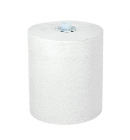 фото: Бумажные полотенца Lime Matic mini в рулоне, светло-серые, 140м, 1 слой, 540140
