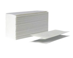 Бумажные полотенца листовые Lime Z-укладки