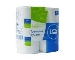 Туалетная бумага в стандартных рулонах Lime